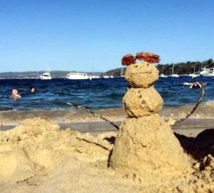 Типичная зима в Австралии.