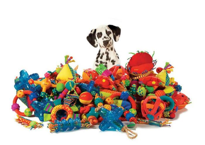 Игрушки и приспособления для животных.