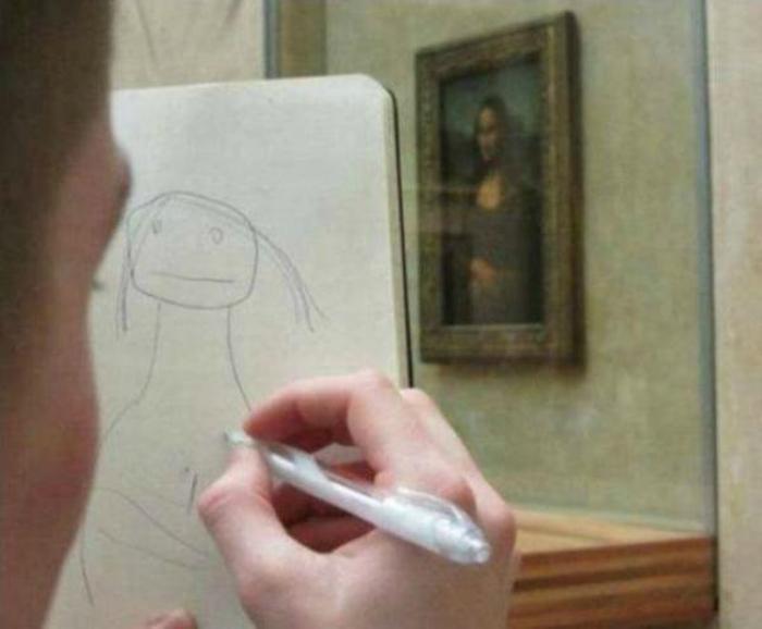 Рождение художника.