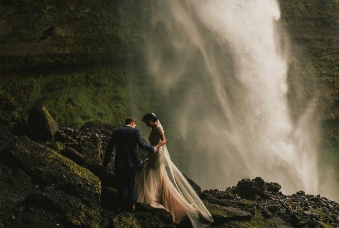 Свадьба в Исландии.