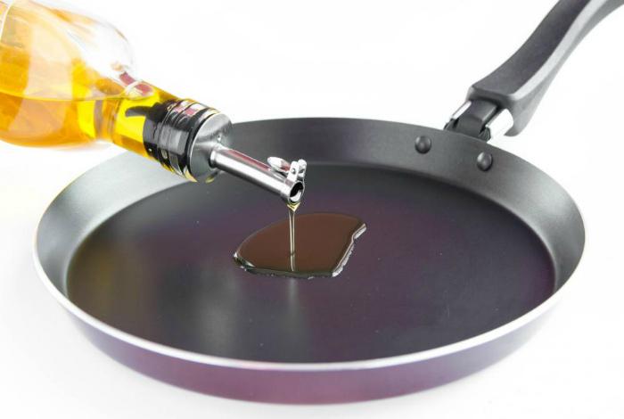 Избежать брызг горячего масла.