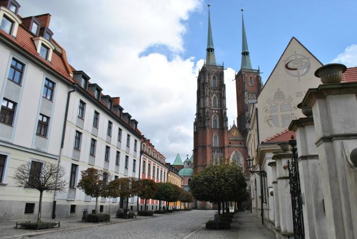 Польша в дни религиозных праздников.