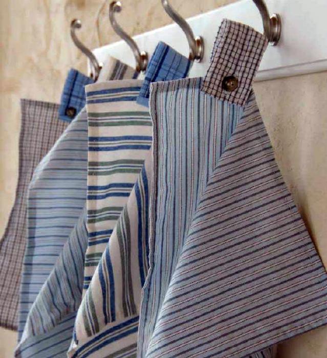 Небольшие кухонные полотенца.