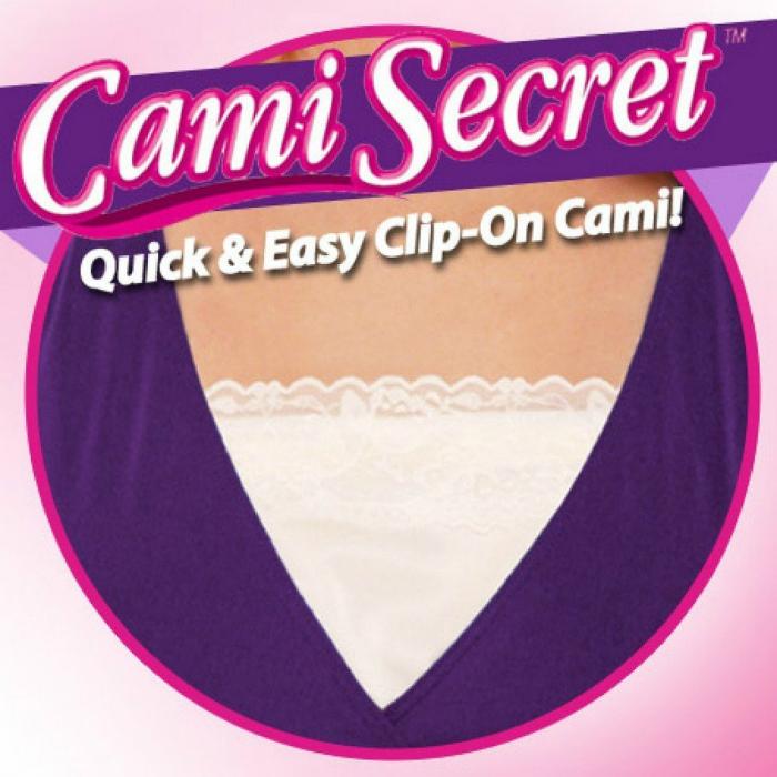 Кружевные подкладки для одежды с глубоким декольте.