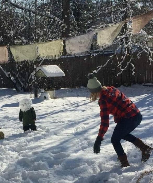 Снежный человек. Детство.
