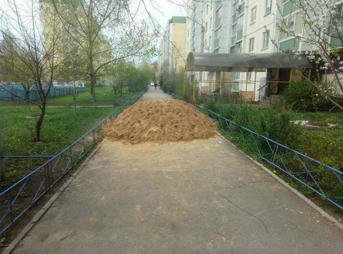 Немного о любви к песку. | Фото: Не только факты.