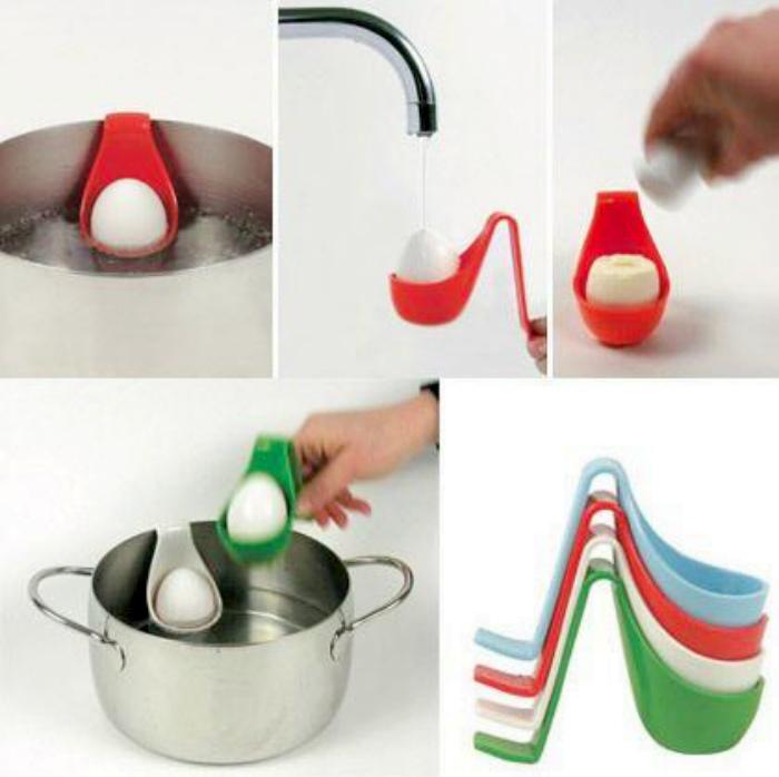 Колпачки для варки яиц. | Фото: Pinterest.