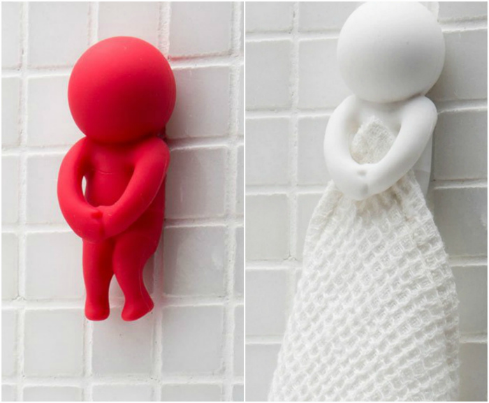 Оригинальный держатель для полотенца. | Фото: Monkey Business - Monkey Business Design.