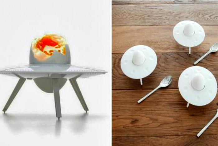 Забавная подставка для яиц. | Фото: Pinterest.
