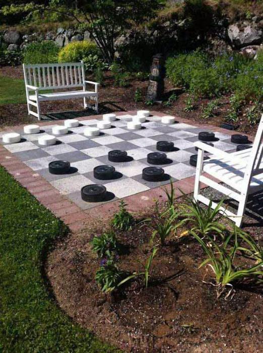 Доска для игры в шашки. | Фото: Pinterest.