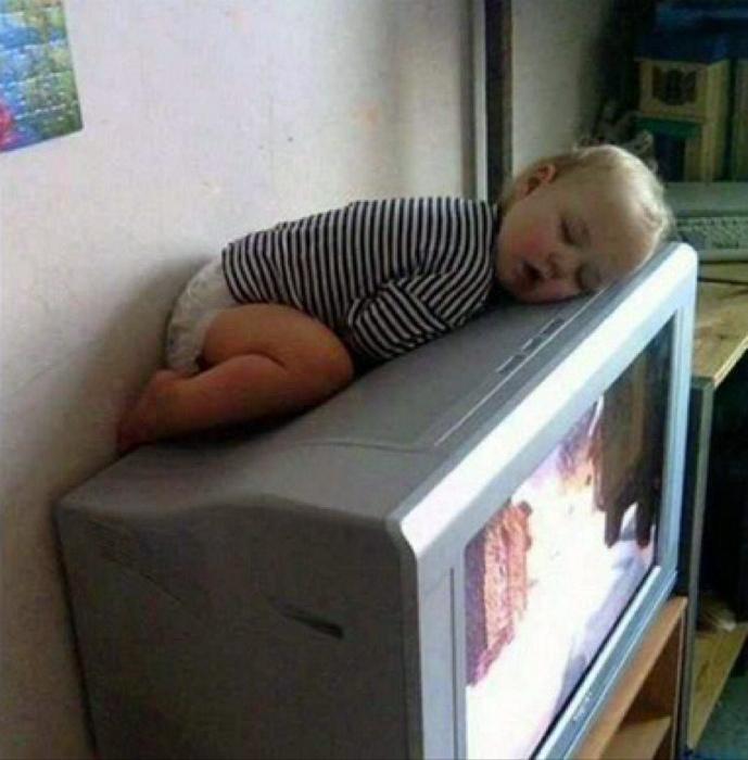Усталость навалилась. | Фото: fishki.net.