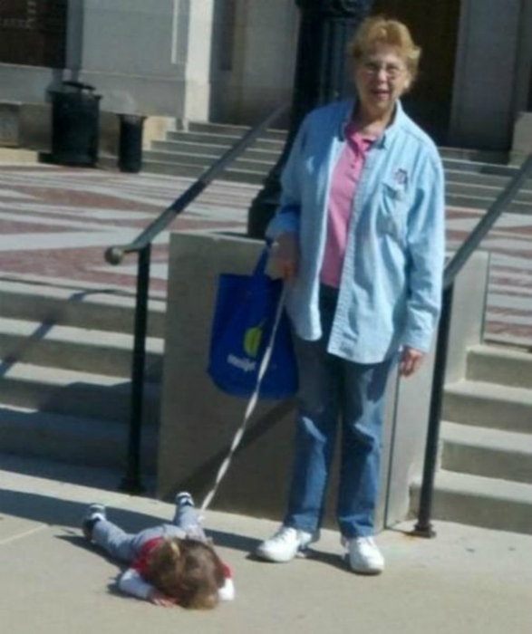 «Бабушка, ты как хочешь, а я спать!»
