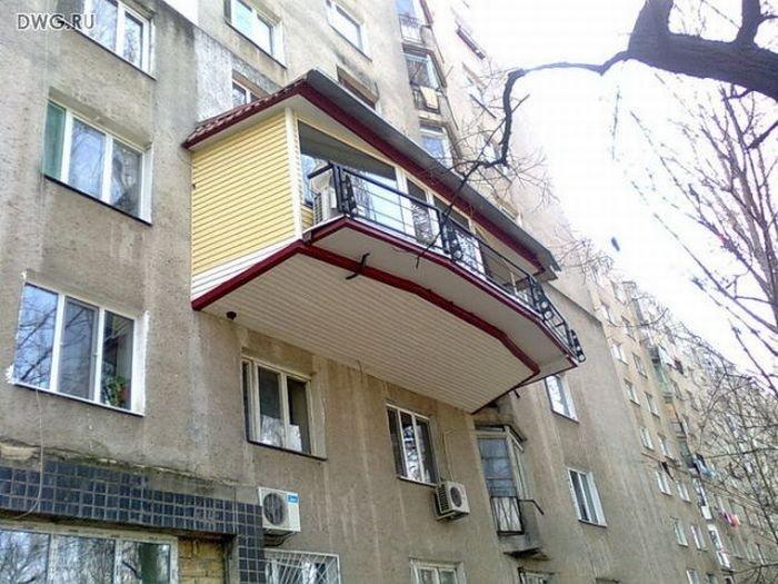 Балкон в балконе.