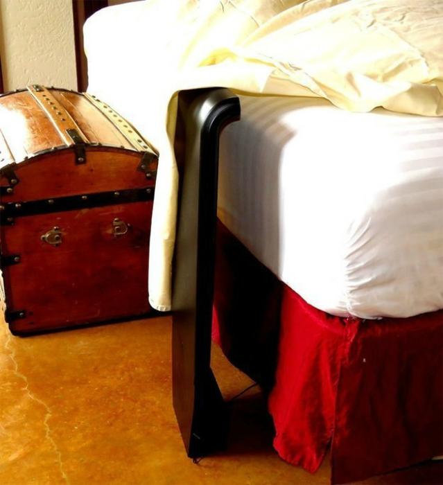 Компактный кондиционер, который охладит кровать.