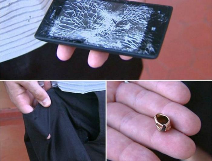Спасительный телефон.