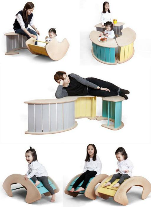 Многофункциональная детская мебель. | Фото: STENA.ee.