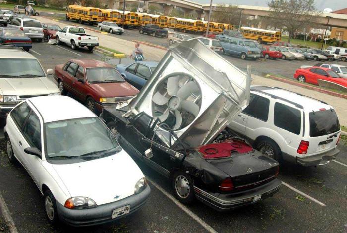 Когда победитель приехал на парковку.   Фото: Forum.ge.