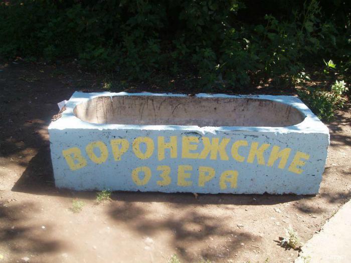 Бетонные озера Воронежа.