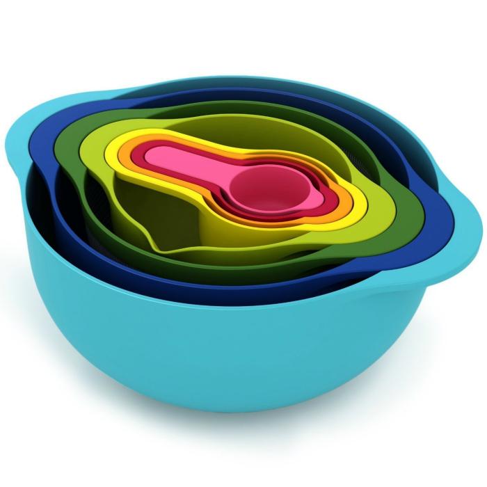Компактный набор посуды «Гнездо».