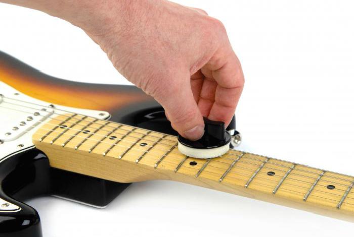 Смазка гитарных струн.