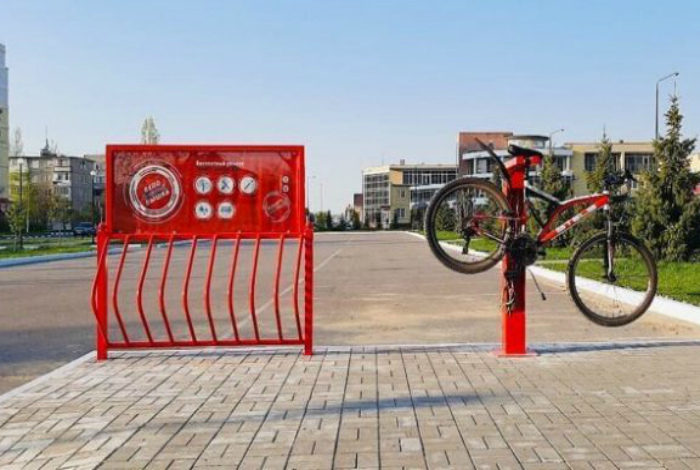 Мастерская для ремонта велосипедов. | Фото: Reddit.