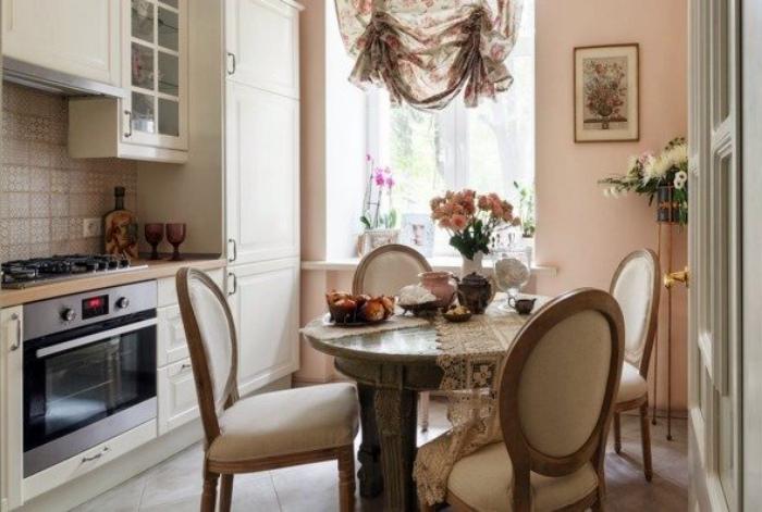 Кухня в классическом стиле.