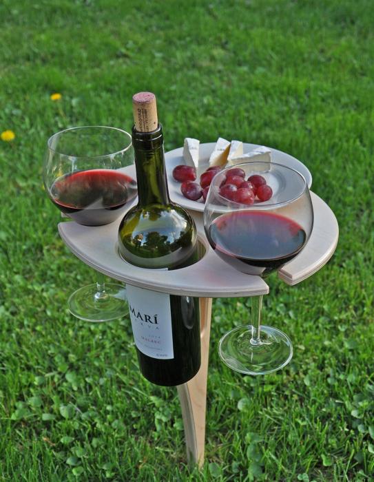 Мини-столик для пикника.