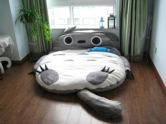 Необычная кровать «Тоторо».