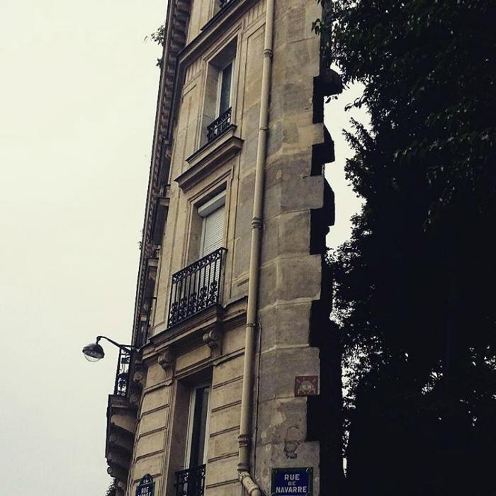 Кусок здания.