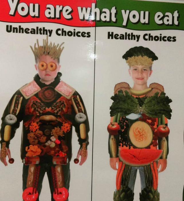 «Ты - это то, что ты ешь».