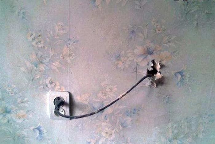 «Сосед, включи телевизор!»   Фото: Жемчужина Зеленограда.