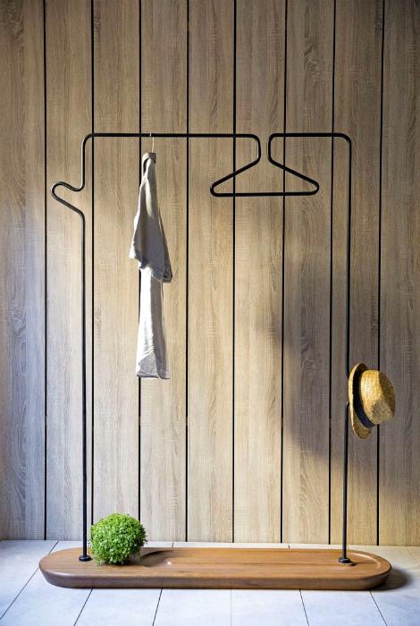 Открытый гардероб от компании Kann Design.