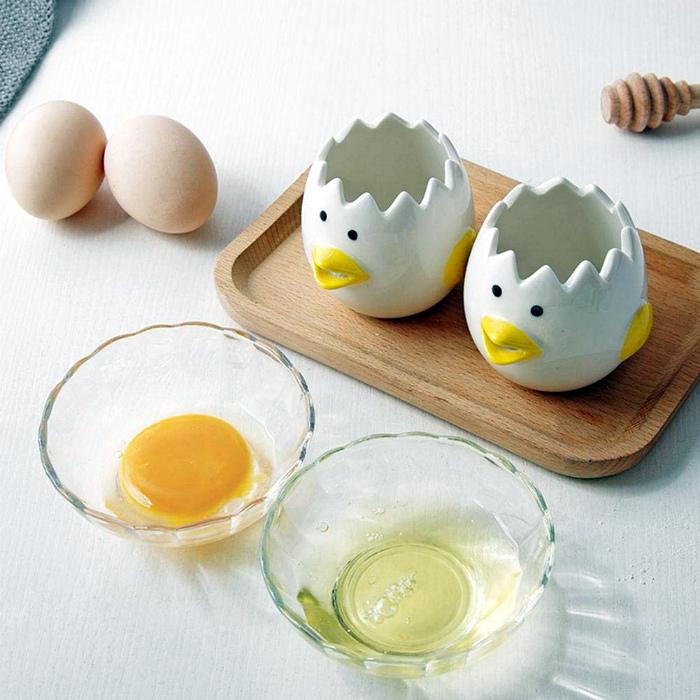 Милый сепаратор для яиц. | Фото: Amazon.