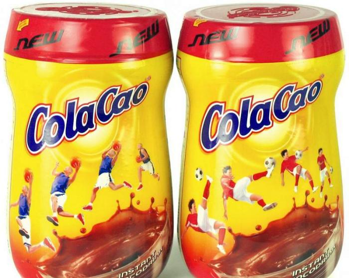 Какао ColaCao.