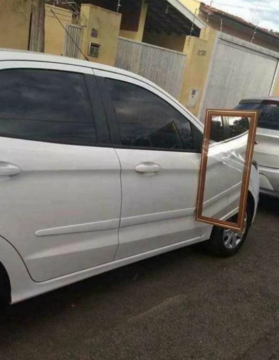 Приобрел зеркальце посолиднее.   Фото: The AK Forum.