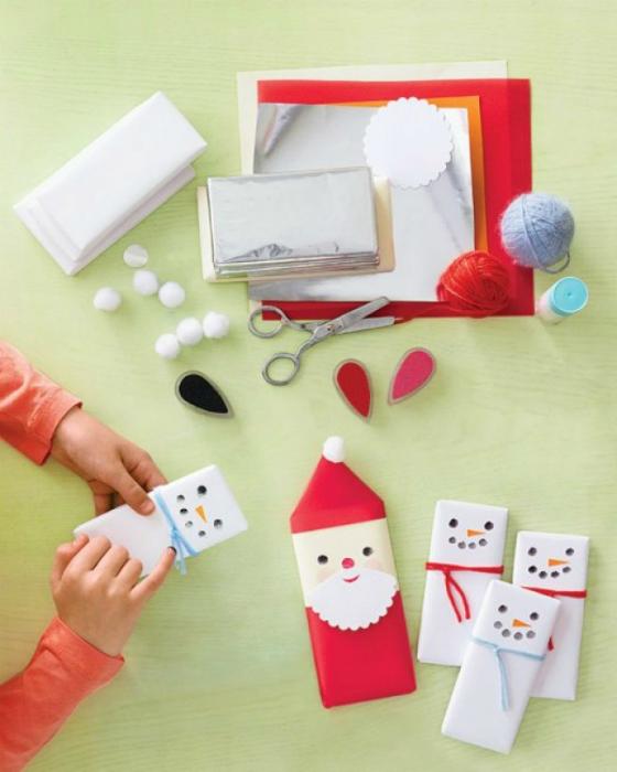 Новогодние подарки своими руками детям