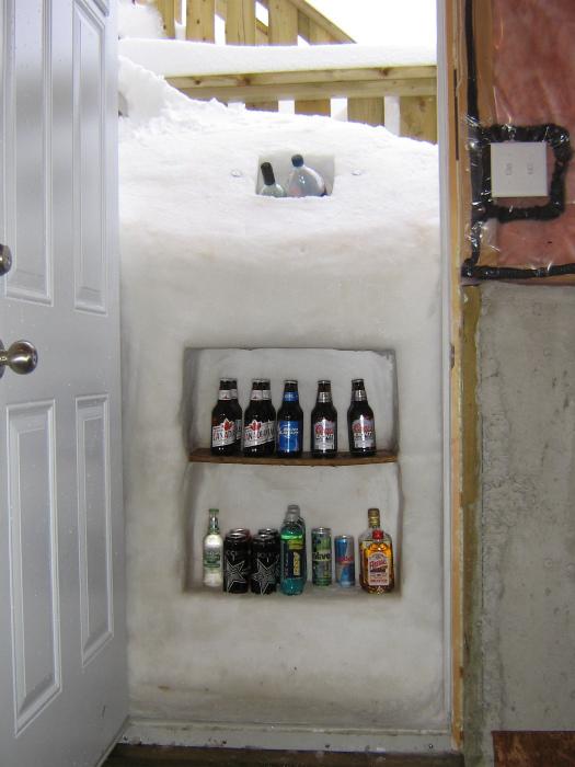 Холодильник, который сделала природа.