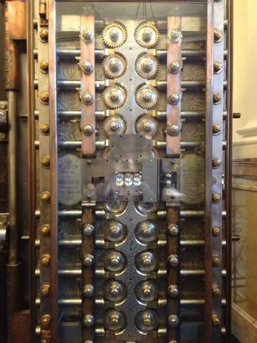 Безопасность в 1800 году.