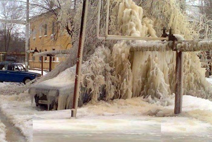 Зимний тюнинг. | Фото: Dumpaday.