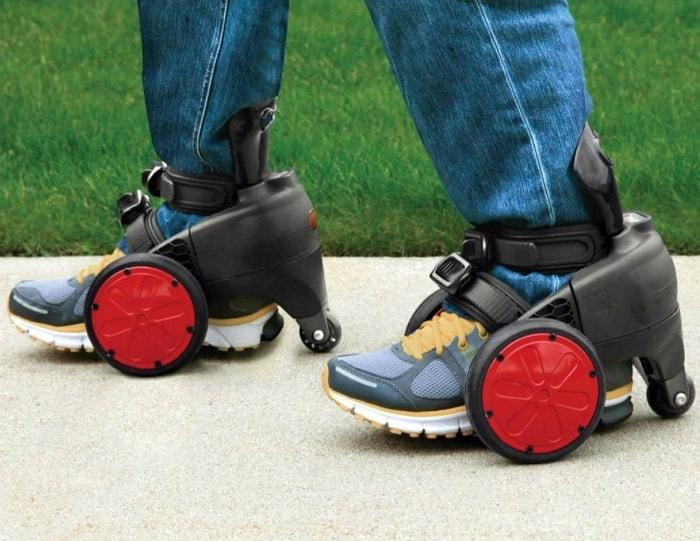 Обувь на колесах.