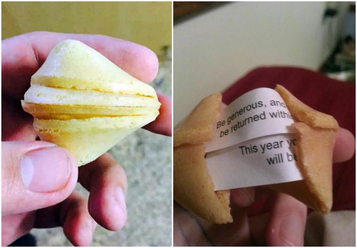 Печенье с предсказаниями.
