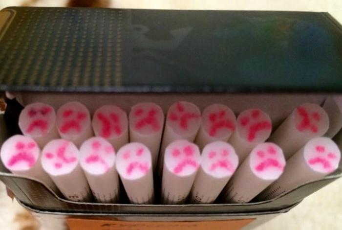 Внезапно все сигареты стали грустными. | Фото: Тролльно.