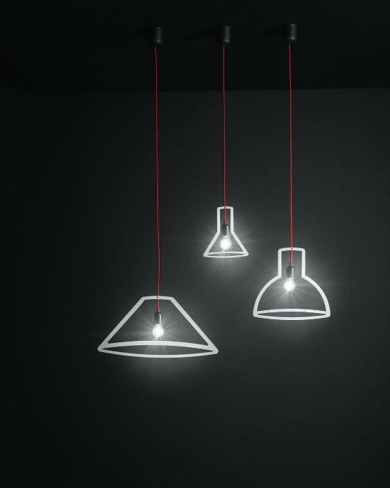 Светильники в стиле минимализм. | Фото: Pinterest.