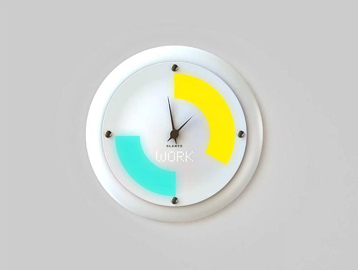 Настенные смарт-часы Glance Clock.