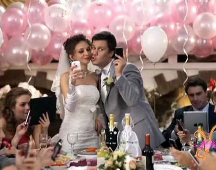 Типичная свадьба.