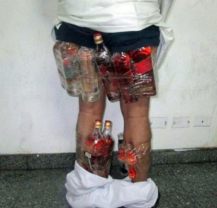 Алкогольная контрабанда.