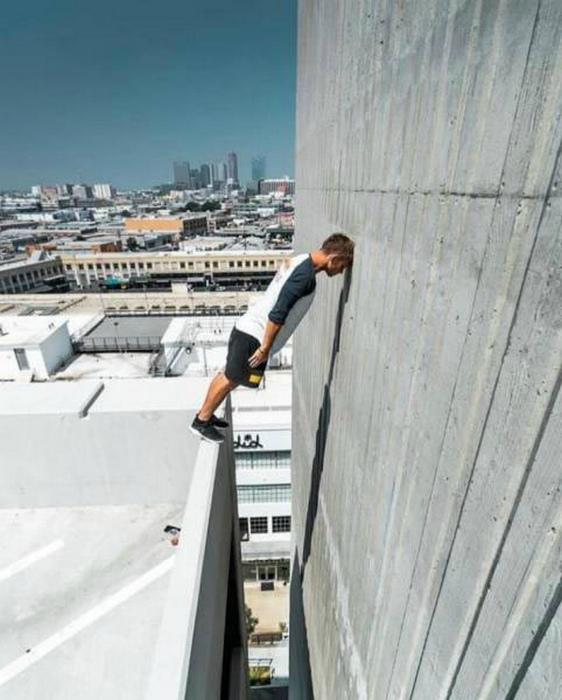 Не смотри вниз!