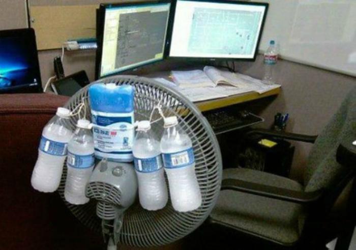 Увеличить возможности вентилятора.