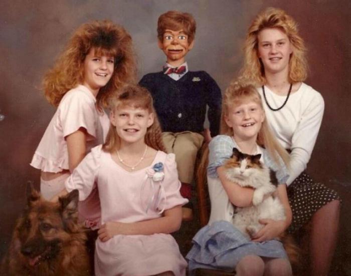 Милая семейка.