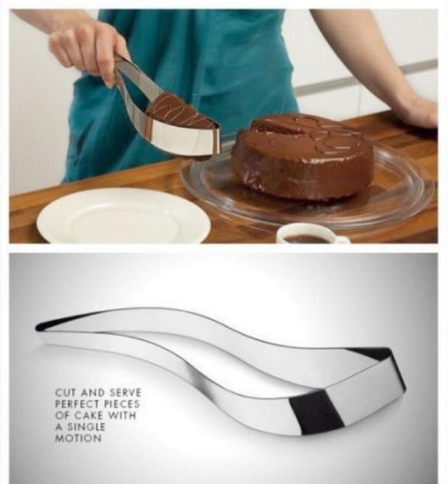 Уникальный нож для торта.